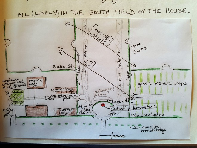 South Yard Egress Plan